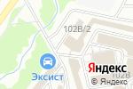 Схема проезда до компании Мир Замков в Кирове