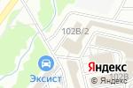 Схема проезда до компании СтройПлит в Кирове