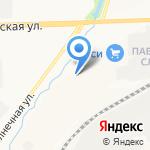 Интрас на карте Кирова