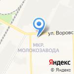 Беретта на карте Кирова