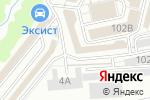 Схема проезда до компании Бамбук-City в Кирове