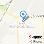 Лазер Бьюти на карте Кирова