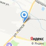 Дом Авто на карте Кирова