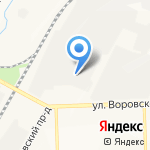 Оптово-розничная компания на карте Кирова