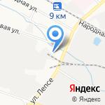 Газпром газораспределение Киров 1 на карте Кирова