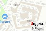 Схема проезда до компании Мастер Окон и Дверей в Кирове