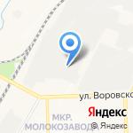 Автомагазин запчастей для иномарок на карте Кирова