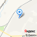 Вятский на карте Кирова