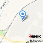 Конкорд и К на карте Кирова