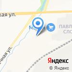Planeta на карте Кирова