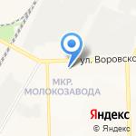 Нотариус Виноградова Л.Н. на карте Кирова