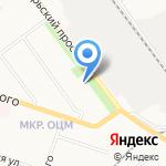 Пуговка на карте Кирова
