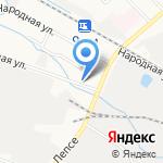 Компаньон на карте Кирова