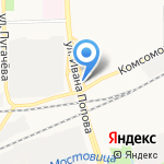 Лучик на карте Кирова
