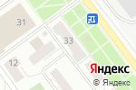 Схема проезда до компании Цветущая поляна в Кирове