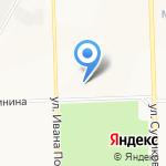 Средняя общеобразовательная школа №51 с углубленным изучением отдельных предметов на карте Кирова