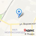 Флюгер на карте Кирова