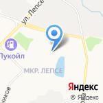 Учебная пожарная часть на карте Кирова
