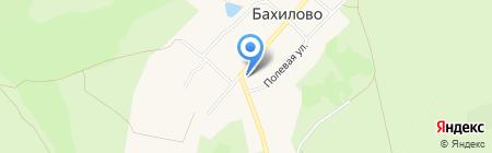 Почтовое отделение №168 на карте Бахилово