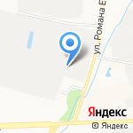 Деловая Типография на карте Кирова