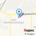 Ангел на карте Кирова