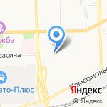 Магазин мясной продукции на карте Кирова