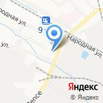 Май на карте Кирова