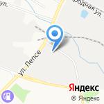 Арново на карте Кирова