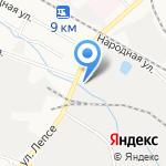 Вкусноешка на карте Кирова
