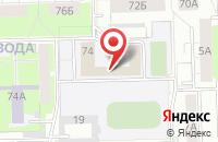 Схема проезда до компании Вилис в Кирове
