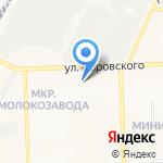 Кировский дом камня на карте Кирова