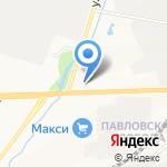 Восток-Сервис на карте Кирова