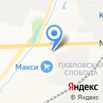 Хамелеон на карте Кирова