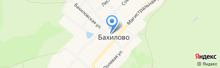 Администрация сельского поселения Бахилово на карте Бахилово