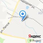 Аэроплан на карте Кирова