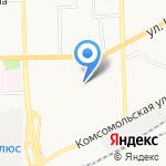 ЖЭК №15 на карте Кирова