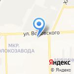 Стоматология на карте Кирова