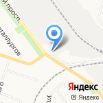 АвтоПромИнвест на карте Кирова