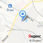 Агрокомплект на карте Кирова