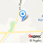Азери на карте Кирова