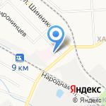 Областной реабилитационный центр для детей и подростков с ограниченными возможностями на карте Кирова