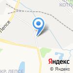 Соффи на карте Кирова