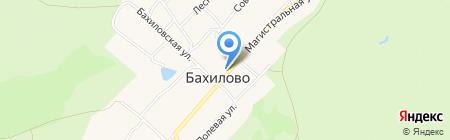 Приход в честь иконы Божией Матери Смоленской на карте Бахилово