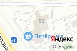 Схема проезда до компании МАГУРА в Кирове