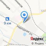 Властелин колес на карте Кирова