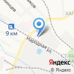 Народный на карте Кирова
