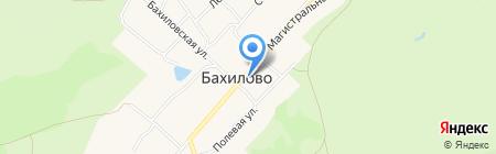 Продуктовый магазин на карте Бахилово