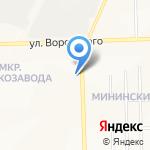 Созвездие К на карте Кирова