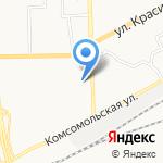 Северовостокэнергострой на карте Кирова