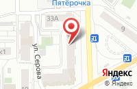 Схема проезда до компании Вятка-Ланда в Кирове